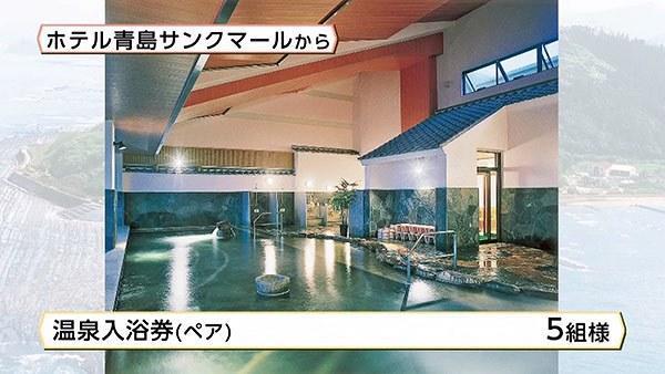 ホテル青島サンクマール温泉入浴券(ペア)
