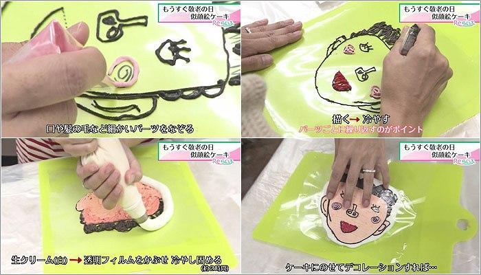 05 似顔絵ケーキの作り方 3