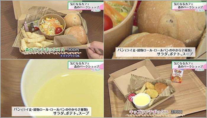 03 森のランチボックス/キッズ用のランチボックス