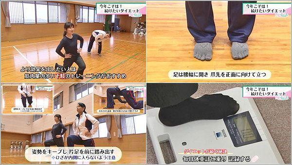 減量のポイント:下肢のトレーニング
