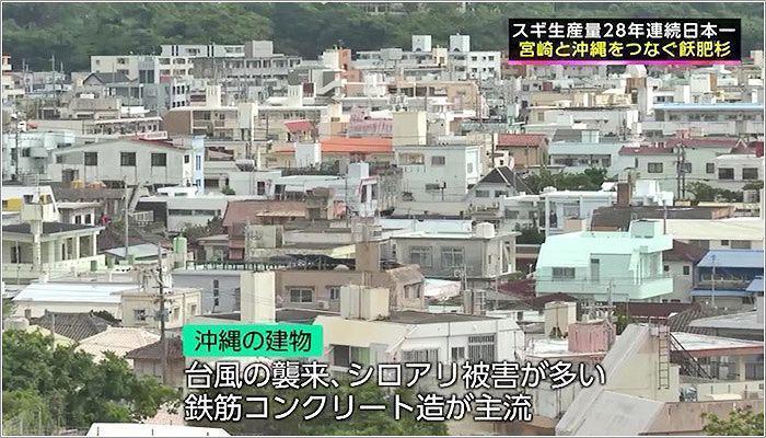07 鉄筋コンクリート造が主流の沖縄の様子