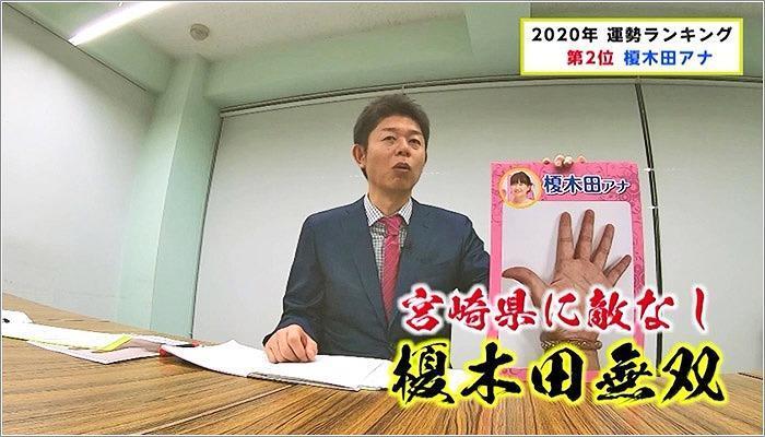 03 榎木田アナの2020年の運勢を語る島田さん