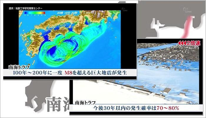 トラフ 地震 南海 巨大