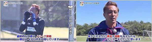 テゲバジャーロの守護神GK石井健太選手