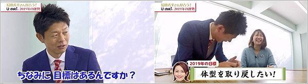 榎木田アナの2019年の目標・・・笑