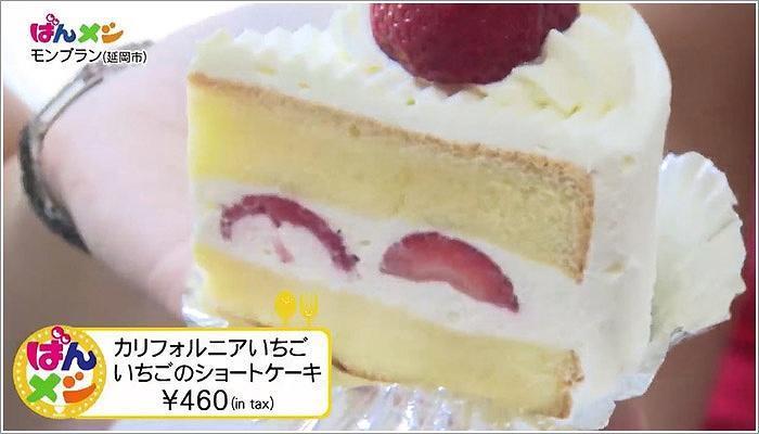 04 カルフォルニアいちご いちごのショートケーキ